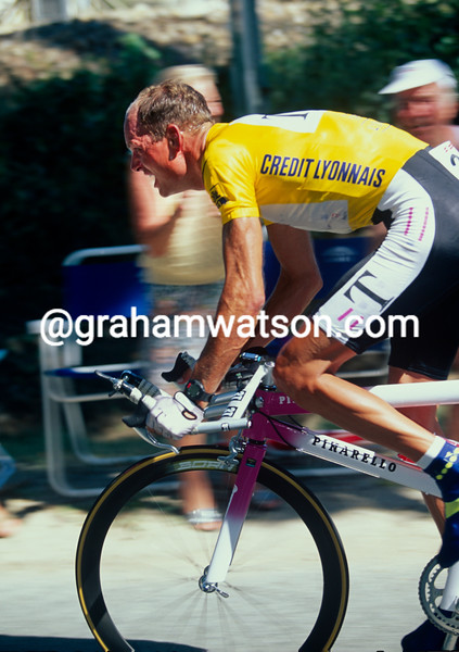 Bjarne Riis in the 1996 Tour de France