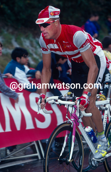 Bjarne Riis in the 1998 World Championships