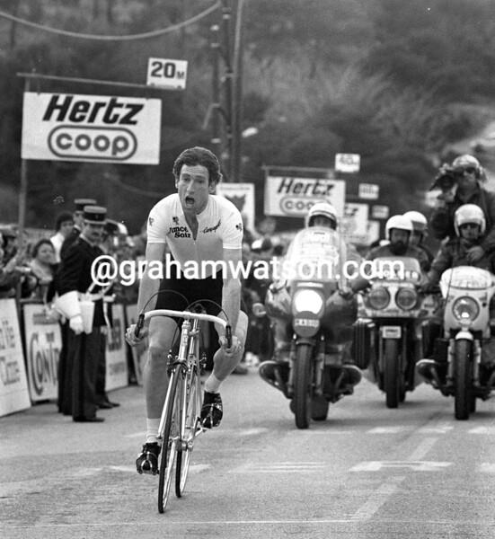 SEAN KELLY WINS THE 1986 PARIS-NICE