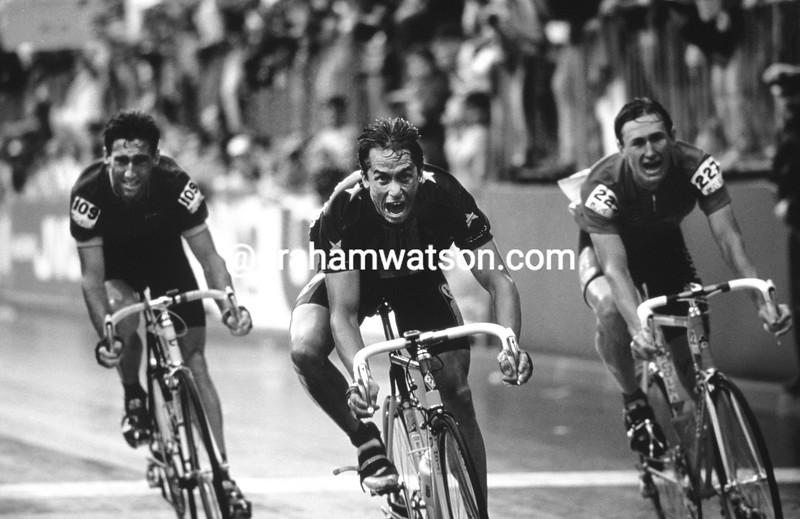 Greg LeMond wins the 1989 World Championships