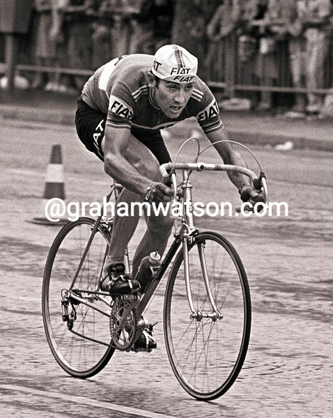 Eddy Merckx in the 1977 Tour de France