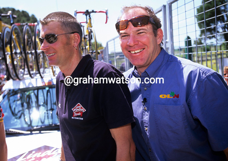 Sean Yates and Bob Roll