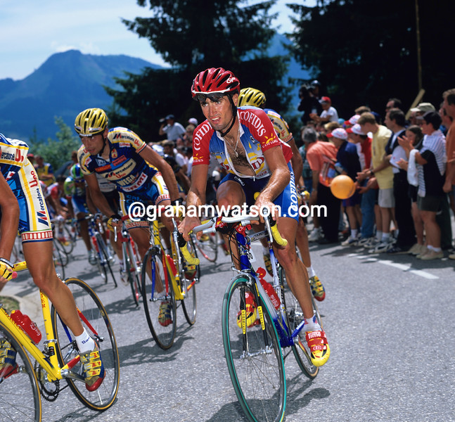 Bobby Julich in the 1996 Tour de France