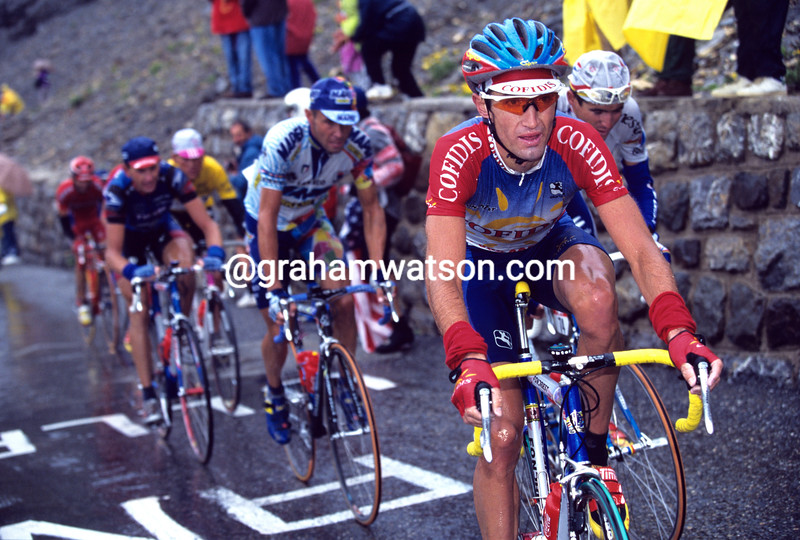 Bobby Julich in the 1998 Tour de France