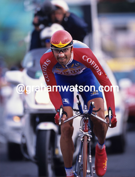 Bobby Julich in the 1999 Tour de France