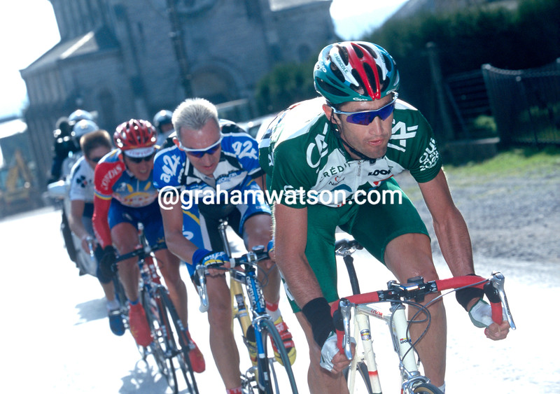 Bobby Julich in the 2001 Criterium Internationale