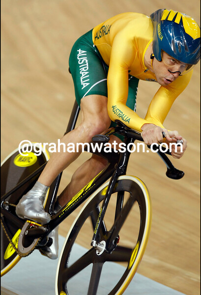 bradley MCGEE IN THE MENS PURSUIT AT THE 2008 OLYMPIC GAMES