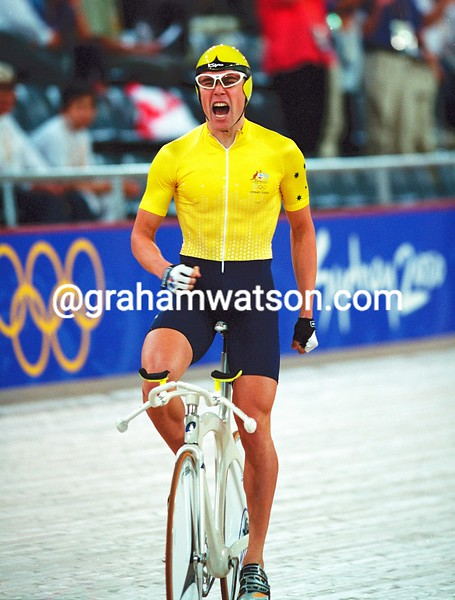 Bradley McGee in the 2000 Olympics