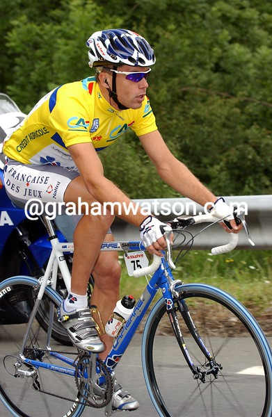 Bradley McGee in the 2002 Dauphine-Libere
