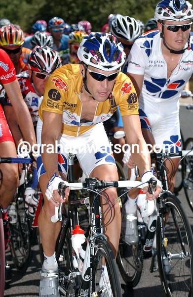 Bradley McGee in the 2005 Vuelta  a España