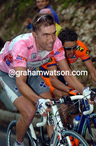 Bradley McGee in the 2004 Giro d'Italia