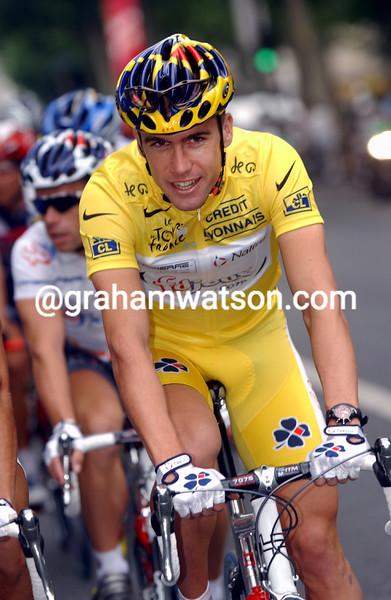 Bradley McGee in the 2003 Tour de France