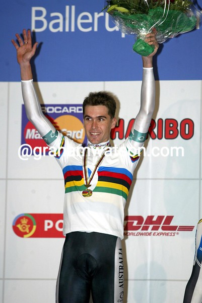 Bradley McGee in the 1995 World Track Championships