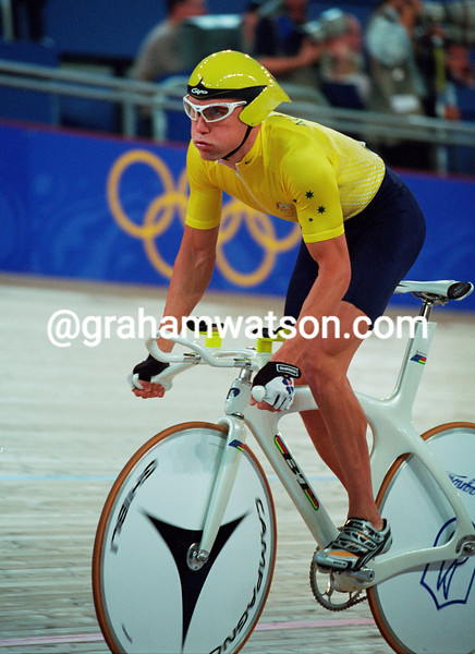 Bradley McGee in the 2000 Olympic Games individual pursuit