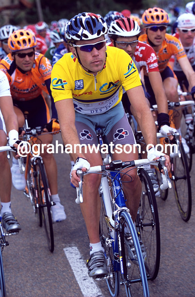 Bradley McGee in the 2001 Dauphine-LIbere