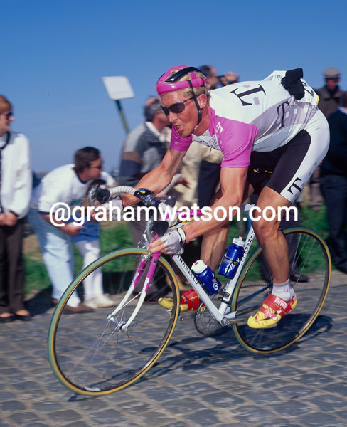 Brian Holm in the 1994 Tour of Flanders