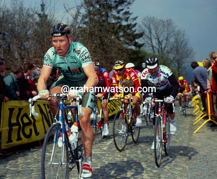 Brian Holm in the 1992 Tour of Flanders