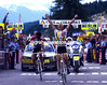 Laurent Fignon wins into La Plagne in the 1987 Tour de France