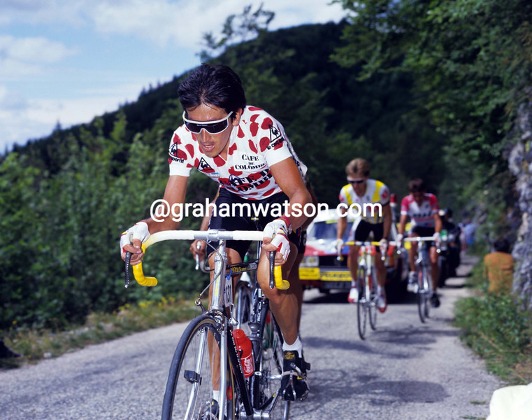 Luis Herrera in the 1987 Tour de France