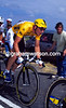 CHRIS BOARDMAN WEARS THE YELLOW JERSEY IN THE 1994 TOUR DE FRANCE