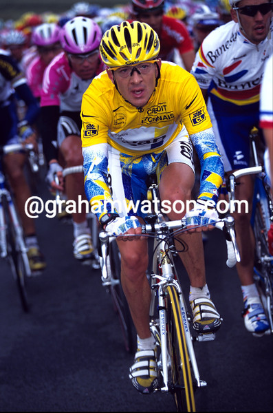 CHRIS BOARDMAN IN THE 1998 TOUR DE FRANCE