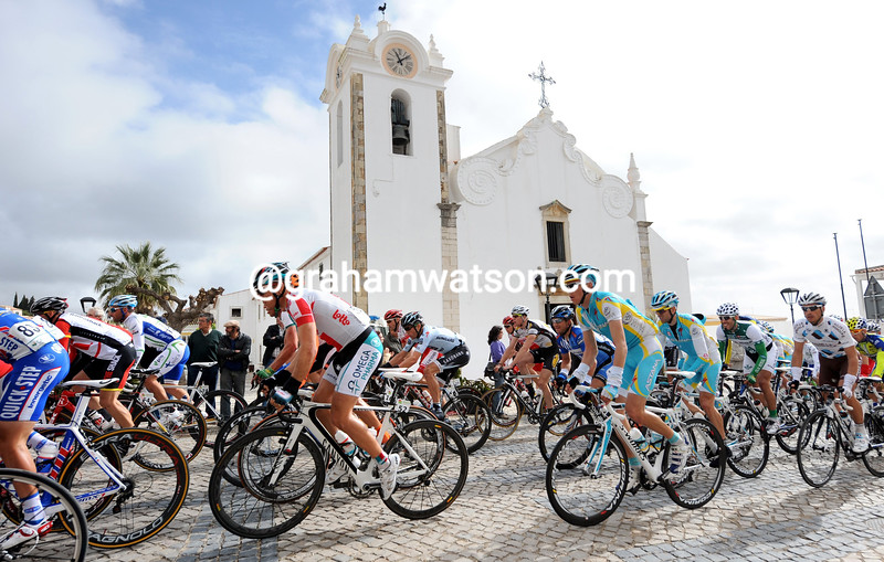 STAGE FOUR OF THE 2011 TOUR OF ALGARVE