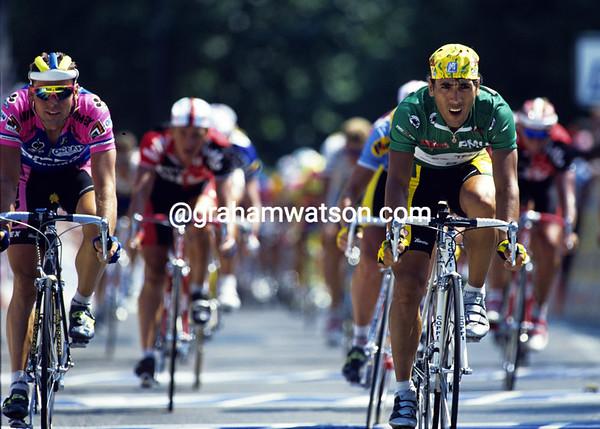 Abdujaparov in the 1994 Tour de France