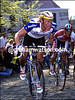 ERIC VANDERAERDEN IN THE 1989 TOUR OF FLANDERS
