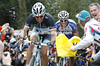FABIAN CANCELLARA ESCAPES IN THE 2011 TOUR OF FLANDERS