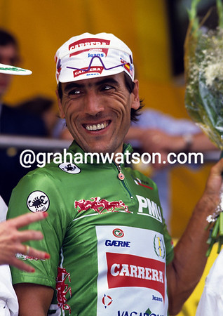 Abdujaparov in the 1992 Tour de France