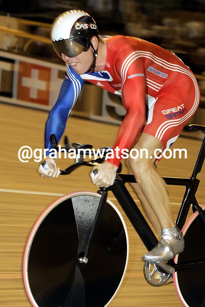 Chris Hoy in the 2006 World Track Championships