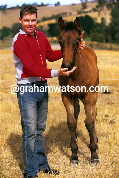 Cadel Evans in 2003