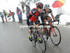 Cadel Evans at Tre Cime de Lavaredo in the 2013 Giro d'Italia
