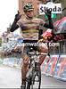 Cadel Evans wins stage seven of the 2010 Giro d'Italia