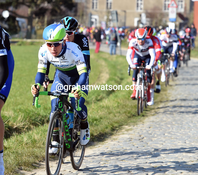 Caleb Ewan in the 2016 Kuurne-Brussels-Kuurne