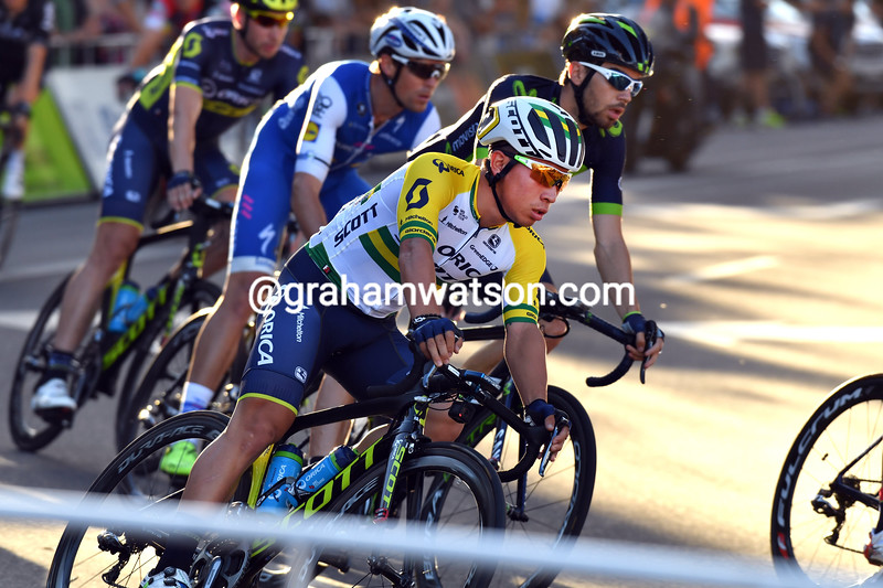 Caleb Ewan in the 2017 Peoples Choice Classic