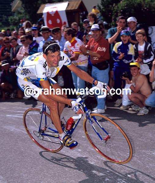 Cedric Vasseur in the 1997 Tour de France