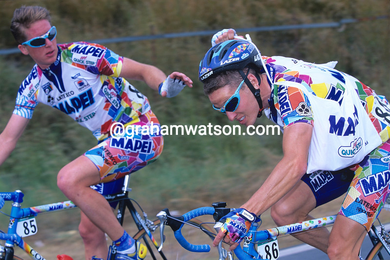 Chann McRae in the 2001 Tour of Spain