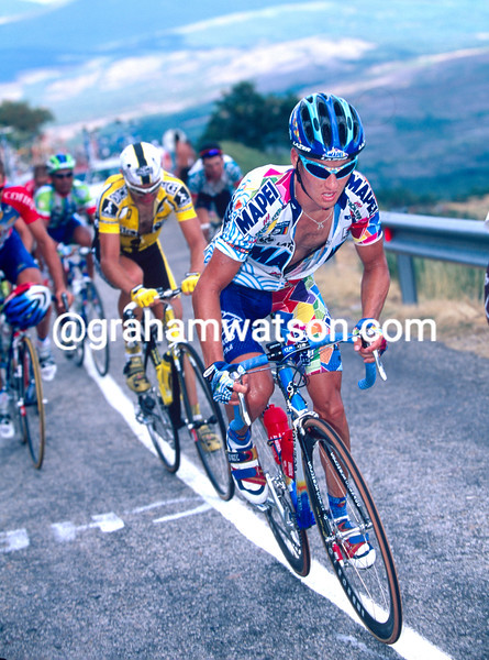 Chann McRae in the 2000 Tour of Spain