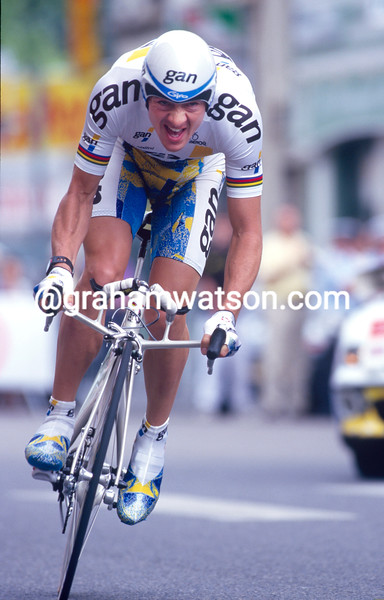Chris Boardman in the 1997 Dauphine-Libere
