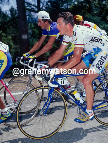 Chris Boardman in the 1995 Dauphine-Libere