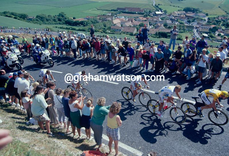 Chris Boardman in the 1994 Tour de France TTT