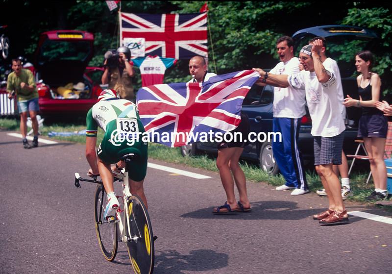 Chris Boardman in the 1999 Tour de France