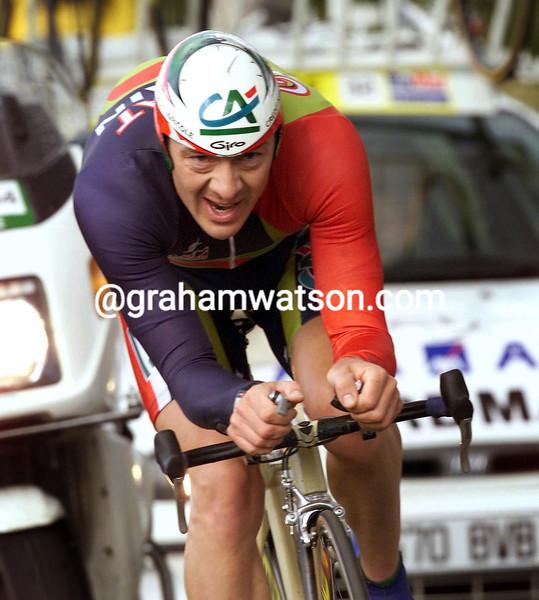 Chris Boardman in the 1998 World TT Championship