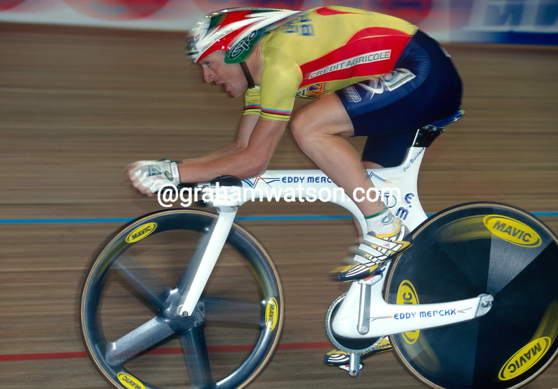 Chris Boardman in the 1998 World Track Championship