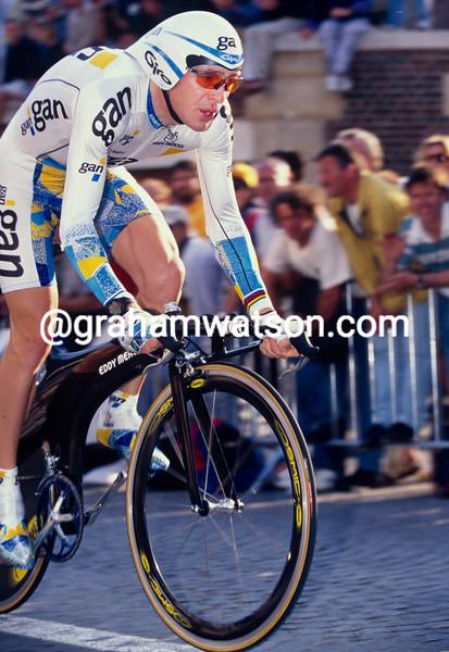 Chris Boardman in the 1997 Tour de France Prologue
