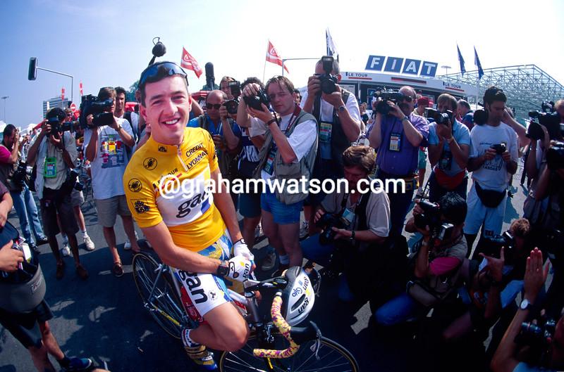 Chris Boardman in the 1994 Tour de France