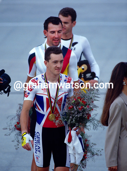 Chris Boardman at the 1992 Olympic Games