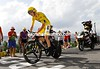 Chris Froome on stage 18 of the 2016 Tour de France