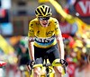 Chris Froome on stage twenty of the 2015 Tour de France